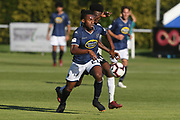 Auckland City Maro Bonsu-Maro in action in the Handa Premiership football match, Hawke's Bay v Auckland, Bluewater Stadium, Napier, Sunday, January 20, 2019. Copyright photo: Kerry Marshall / www.photosport.nz