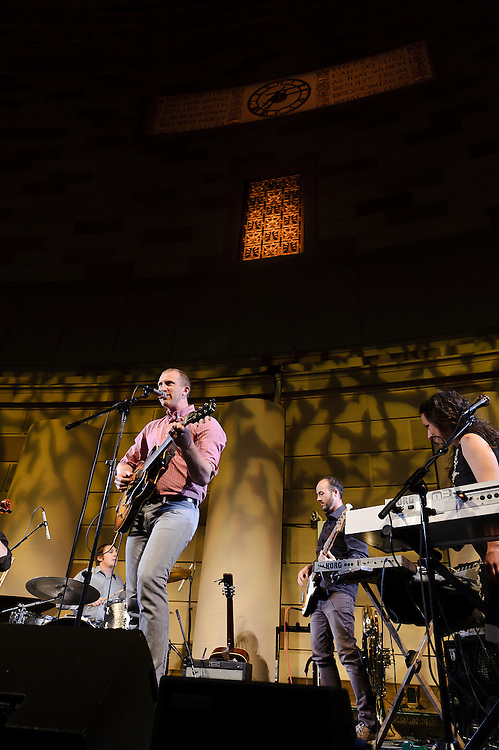 Photos of the band Lost in the Trees performing at the 11th annual Jed Foundation gala event in Gotham Hall, NYC. June 7, 2012. Copyright © 2012 Matthew Eisman. All Rights Reserved.