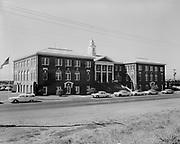 "ackroyd-08537-5. ""Portland Union Stockyards. 4-H Club Tour. September 5, 1958"""