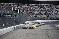 July 22, 2018 - Loudon, New Hampshire, United States of America - Kurt Busch (41) and Martin Truex, Jr (78) take the green flag for the Foxwoods Resort Casino 301 at New Hampshire Motor Speedway in Loudon, New Hampshire. (Credit Image: © Justin R. Noe Asp Inc/ASP via ZUMA Wire)