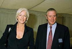 COUNT & COUNTESS FELLIPO GUERRINI-MARALDI at a luncheon in Berkshire on 22nd June 1997.LZN 97