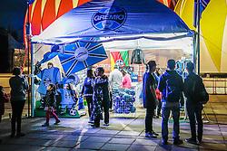 As duas maiores marcas esportivas do Rio Grande do Sul também estão presentes na 39ª edição da Expointer. Na entrada principal do Parque Assis Brasil estão os estandes do Grêmio e do Internacional na 39º Expointer - Exposição Internacional de Animais, Máquinas, Implementos e Produtos Agropecuários. FOTO: Itamar Aguiar/ Agência Preview