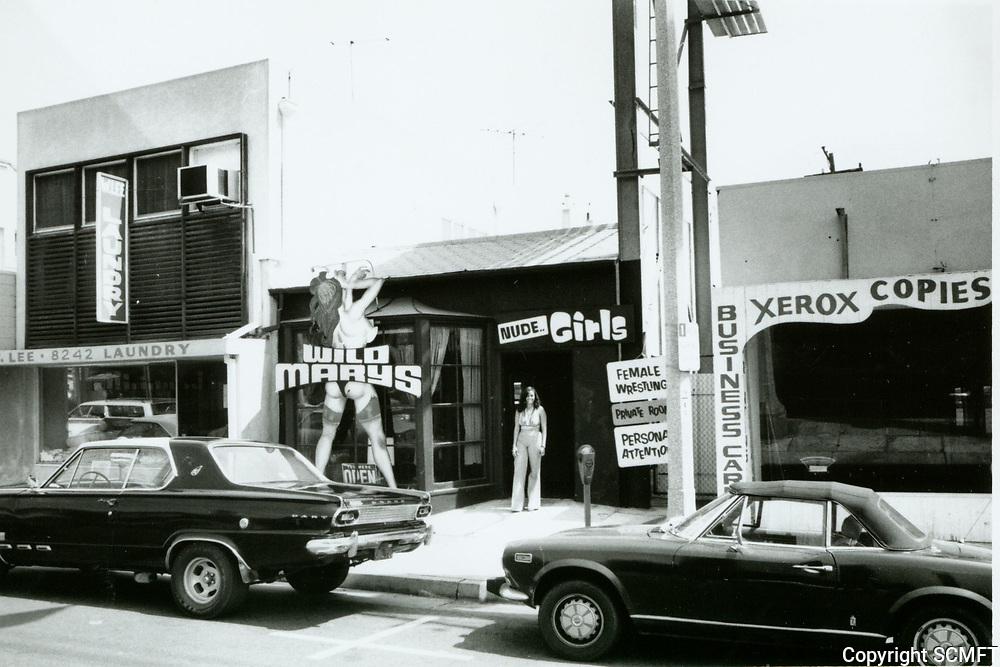 1975 Wild Mary's Adult Theater on Santa Monica Blvd.