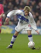 London, England, UK, 8th March 2002, EFL Div 2, Queens Park Rangers vs Bristol City, Loftus Road Stadium, Shepherd's Bush, Greater London,<br /> [Mandatory Credit: Peter Spurrier/Intersport Images],<br /> <br /> Sport - Football Nationwide Division 2 - QPR v Bristol City<br /> Lee Cook