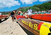 Molokai Hoe, Outrigger canoe race from Molokai to Waikiki