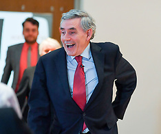 Gordon Brown European election rally,  Glasgow,  20 May 2019