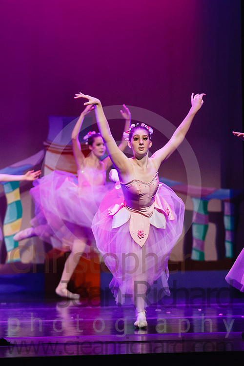 """Dancers of the Woodlands Ballet Ensemble and students of the Payne Academy of the Performing Arts onstage in the final dress rehearsal for """"The Nutcracker""""...Performances November 23rd to 25th, 2012 at Woodlands College Park HS Theatre, The Woodlands, Texas...http://www.payneacademy.com"""
