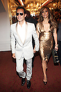 14 June 2010- Harlem, New York- l to r: Marc Anthony and his wife, Jennifer Lopez at The Apollo Theater's 2010 Spring Benefit and Awards Ceremony hosted by Jamie Foxx inducting Aretha Frankilin and Michael Jackson, and honoring Jennifer Lopez and Marc Anthony co- sponsored by Moet et Chandon which was held at the Apollo Theater on June 14, 2010 in Harlem, NYC. Photo Credit: Terrence Jennngs/Sipa