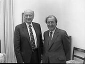 1982 -  Mayor Ed Koch Meets Taoiseach Charles Haughey P42