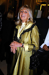 LIZ BREWER at the opening night of the musical Murderous Instincts at The Savoy Theatre, London on 7th October 2004.<br />
