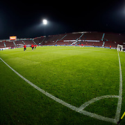 A general view of Avni Aker Stadium during their Turkish Super League match Trabzonspor between Gaziantepspor at the Avni Aker Stadium at Trabzon Turkey on Wednesday, 28 October 2015. Photo by Aykut AKICI/TURKPIX