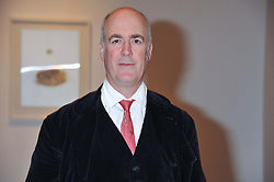 CHARLES SAUMAREZ SMITH at the launch of the Krug Happiness Exhibition at The Royal Academy, 6 Burlington Gardens, London on 12th December 2011.