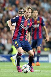 06.05.2015, Camp Nou, Barcelona, ESP, UEFA CL, FC Barcelona vs FC Bayern Muenchen, Halbfinale, Hinspiel, im Bild Ivan Rakitic #4 (FC Barcelona) // during the UEFA Champions League semi finals 1st Leg match between FC Barcelona and FC Bayern Munich at the Camp Nou in Barcelona, Spain on 2015/05/06. EXPA Pictures © 2015, PhotoCredit: EXPA/ Eibner-Pressefoto/ Kolbert<br /> <br /> *****ATTENTION - OUT of GER*****