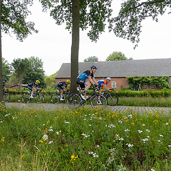 VELDHOVEN (NED) July 4 <br /> CYCLING <br /> The first race of the Schwalbe Topcompetition the Simac Omloop der Kempen<br /> Tijmen Eising, Joren Bloem