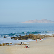 The beach by the Westin Los Cabos. Los Cabos, BCS.