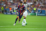 Barcelona Neymar  during the Champions League Final between Juventus FC and FC Barcelona at the Olympiastadion, Berlin, Germany on 6 June 2015. Photo by Phil Duncan.