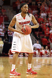 18 March 2015:   Tony Wills during an NIT men's basketball game between the Green Bay Phoenix and the Illinois State Redbirds at Redbird Arena in Normal Illinois