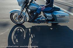 Jeri Buckingham on Diva Amy's Helping with Horsepower Ride on Wednesday of Arizona Bike Week 2014. USA. April 3, 2014.  Photography ©2014 Michael Lichter.