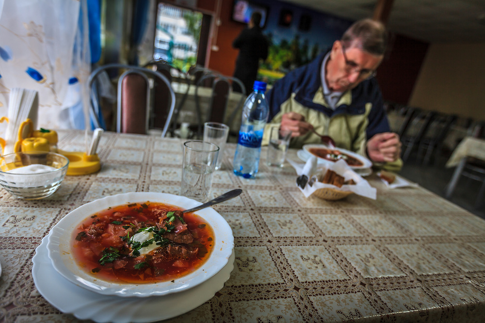 The borsch is a  traditional Russian dish enjoyed from the modest village cottage to the posh gourmet restaurant. Based on beetroot with other vegetables and beef, this is a filling meal.