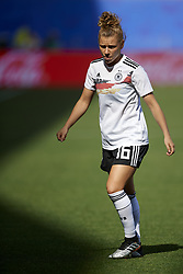 June 29, 2019 - Rennes, France - Linda Dallmann (Sgs Essen) of Germany during the warm-up before the 2019 FIFA Women's World Cup France Quarter Final match between Germany and Sweden at Roazhon Park on June 29, 2019 in Rennes, France. (Credit Image: © Jose Breton/NurPhoto via ZUMA Press)