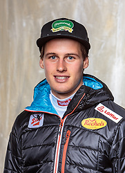 08.10.2016, Olympia Eisstadion, Innsbruck, AUT, OeSV Einkleidung Winterkollektion, Portraits 2016, im Bild Paul Gerstgraser, Nordische Kombination, Herren // during the Outfitting of the Ski Austria Winter Collection and official Portrait Photoshooting at the Olympia Eisstadion in Innsbruck, Austria on 2016/10/08. EXPA Pictures © 2016, PhotoCredit: EXPA/ JFK
