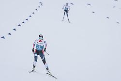 27.02.2021, Oberstdorf, GER, FIS Weltmeisterschaften Ski Nordisch, Oberstdorf 2021, Damen, Nordische Kombination, Langlauf, im Bild Gyda Westvold Hansen (NOR) // Gyda Westvold Hansen of Norway during Cross Country Competition of women Nordic combined of FIS Nordic Ski World Championships 2021. in Oberstdorf, Germany on 2021/02/27. EXPA Pictures © 2021, PhotoCredit: EXPA/ Dominik Angerer