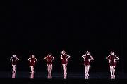 Santa Clara University's Department of Theatre & Dance performs the Choreographers' Gallery during a dress rehearsal at Santa Clara University's Louis B. Mayer Theatre in Santa Clara, California, on December 3, 2014. (Stan Olszewski/SOSKIphoto)