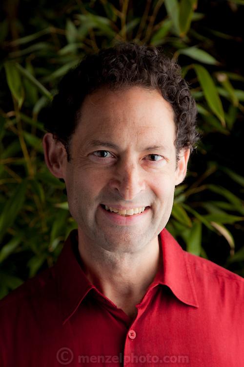 Savid Salesin, Adopbe Scientist and tango bon vivant, at home in Berkeley, CA