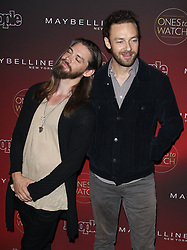 People's One's to Watch Event Celebrating Hollywood's Rising and Brightest Stars - Los Angeles. 04 Oct 2017 Pictured: Tom Payne, Ross Marquand. Photo credit: Jaxon / MEGA TheMegaAgency.com +1 888 505 6342