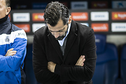 January 14, 2018 - Barcelona, Catalonia, Spain - Quique Sanchez Flores from Spain of RCD Espanyol during La Liga match between RCD Espanyol v Athletic Club de Bilbao at RCD Stadium in Barcelona on 14 of January, 2018. (Credit Image: © Xavier Bonilla/NurPhoto via ZUMA Press)