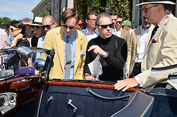 Left to right, NICK FOULKES and VISCOUNT LINLEY at the Cartier hosted Style et Lux at The Goodwood Festival of Speed at Goodwood House, West Sussex on 29th June 2014.