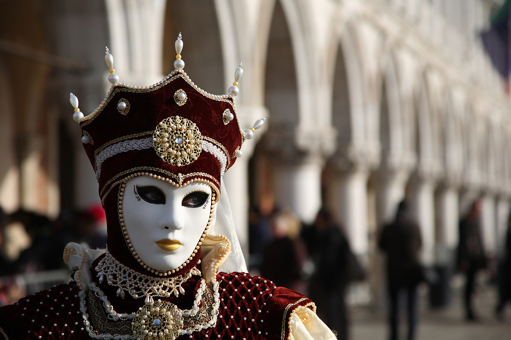 Venice Carnival, Venice, Italy