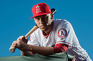 Shortstop Andrelton Simmons poses during the Angels' Photo Day at Spring Training in Tempe, AZ on Tuesday, February 21, 2017. (Photo by Kevin Sullivan, Orange County Register/SCNG)