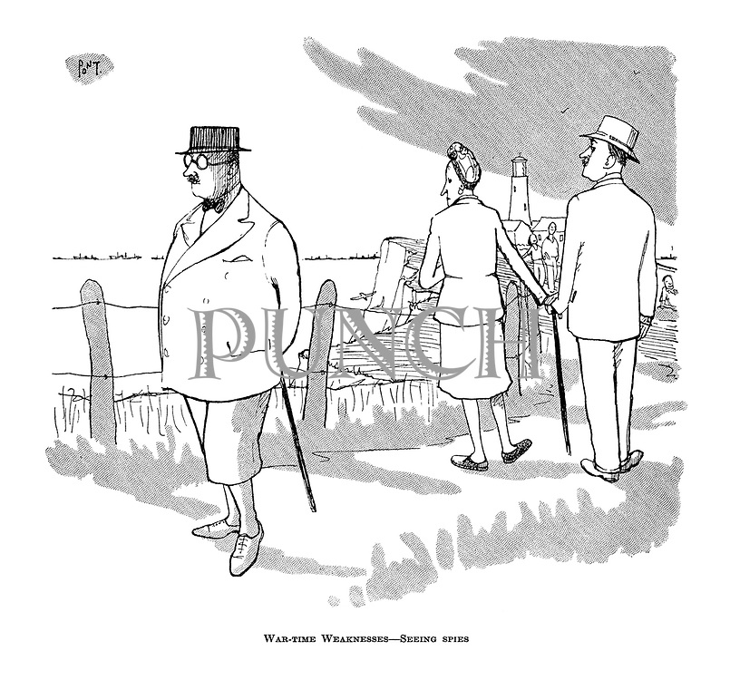 War-time Weaknesses - Seeing spies
