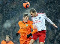 v.l. Markus Rosenberg , David Rozehnal HSV<br /> Bundesliga Hamburger SV - Werder Bremen 2:1<br /> <br /> Norway only