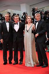 Suburbicon Premier at the Venice film festival. 02 Sep 2017 Pictured: Alexandre Desplat , Matt Damon, Julianne Moore George Clooney. Photo credit: GOL/Capital Pictures / MEGA TheMegaAgency.com +1 888 505 6342