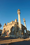 Aziziye Camii (Mosque) with oriental style minarets and windows that are larger than the doors. Konya, Turkey .<br /> <br /> If you prefer to buy from our ALAMY PHOTO LIBRARY  Collection visit : https://www.alamy.com/portfolio/paul-williams-funkystock/konya.html<br /> <br /> Visit our TURKEY PHOTO COLLECTIONS for more photos to download or buy as wall art prints https://funkystock.photoshelter.com/gallery-collection/3f-Pictures-of-Turkey-Turkey-Photos-Images-Fotos/C0000U.hJWkZxAbg