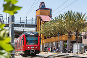 Red Trolley at Grossmont Transit Center