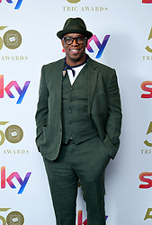 Ian Wright attending the TRIC Awards 2019 50th Birthday Celebration held at the Grosvenor House Hotel, London.