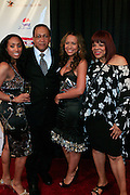 """Michele Murray, Alize Brand Director, Dr. Ben Chavis, Valiesha Butterfield and Jaime Foster at The Ludacris Foundation 5th Annual Benefit Dinner & Casino Night sponsored by Alize, held at The Foundry at Puritan Mill in Atlanta, Ga on May 15, 2008.. Chris """"Ludacris"""" Bridges, William Engram and Chaka Zulu were the inspiration for the development of The Ludacris Foundation (TLF). The foundation is based on the principles Ludacris learned at an early age: self-esteem, spirituality, communication, education, leadership, goal setting, physical activity and community service. Officially established in December of 2001, The Ludacris Foundation was created to make a difference in the lives of youth. These men have illustrated their deep-rooted tradition of community service, which has broadened with their celebrity status. The Ludacris Foundation is committed to helping youth help themselves."""