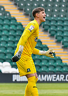 Plymouth Argyle Goalkeeper Michael Cooper (1) half body portrait  during the EFL Sky Bet League 1 match between Plymouth Argyle and Sunderland at Home Park, Plymouth, England on 1 May 2021.