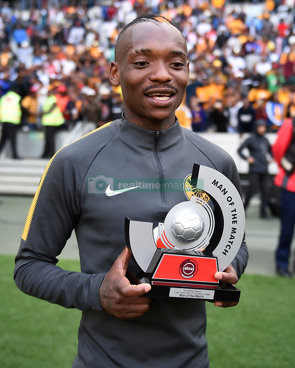 Cape Town-180915- Kaizer Chiefs Striker Khama Billiat named man of the match after scoring a brace against Cape Town City in the ABSA Premiership clash at the cape Town Stadium.Chiefs won the game 4-1 as Billiat scored a brace .Photographs:Phando Jikelo/African News Agency/ANA