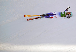 12. 01. 20 1 3, Karl Schranz Abfahrt, St. Anton, AUT, FIS Weltcup Ski Alpin, Abfahrt, Damen im Bild Marie Marchand-Arvier (FRA) // during ladies Downhill of the FIS Ski Alpine World Cup at the Karl Schranz course, St. Anton, Austria on 2013/01/12. EXPA Pictures © 2013, PhotoCredit: EXPA/ Eibner/ Kopatsch ***** ATTENTION - OUT OF GER *****