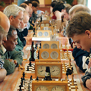 Spijker schaaktoernooi in het Visnet Huizen