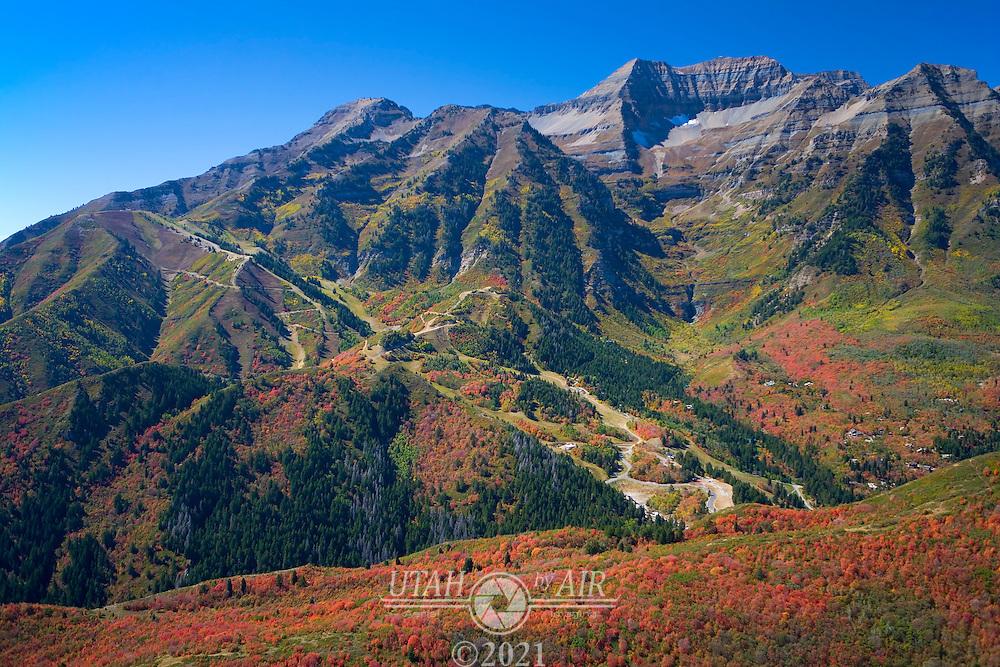 Fall Colors on Mt. Timpanogos and Sundance ski area