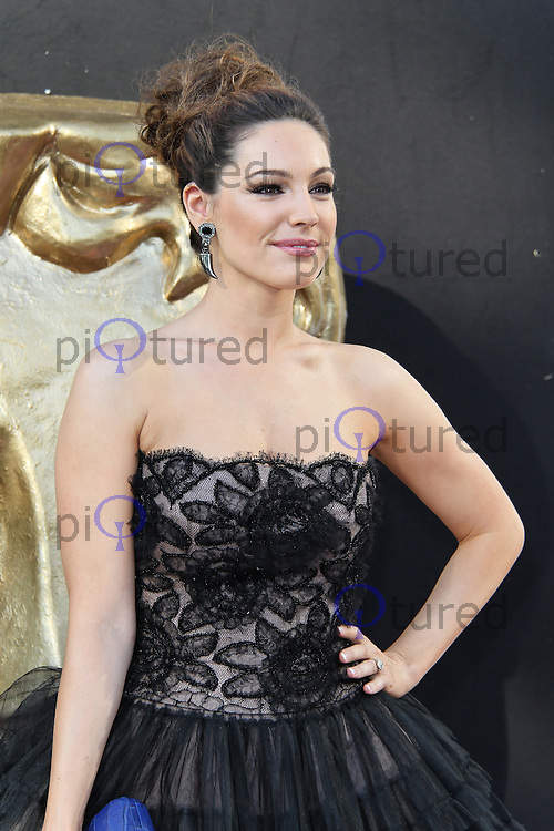 LONDON - MAY 27: Kelly Brook attends the Arqiva British Academy Television Awards at the Royal Festival Hall, London, UK. May 27, 2012. (Photo by Richard Goldschmidt)
