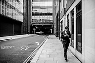 Avril 2019. Londres. Royaume-Uni. Quartier financier de la City à l'heure du Brexit.