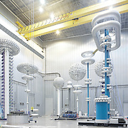 Corporate photography on high voltage power systems in Sweden