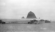 8610-13 Haystack Rock, Cannon Beach, Oregon, 1920s (not recommended for very large prints)