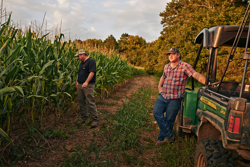 Shot for a documentary film showcasing the history of farming in Middle Tennessee.